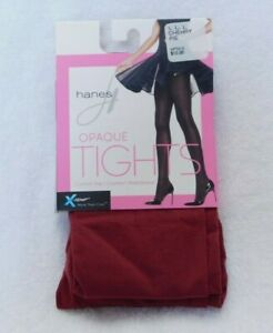 L377Hanes X-Temp Opaque Control Top Tights with Comfort Waistband