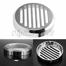 Durable ABS Chrome 90mm Horn Cover for 2002-2009 Honda VTX 1300 C and VTX 1800 C