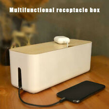 Cable Wire Cord Storage Box Case Management Socket Tidy Safety Organizer Large