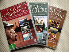 A RIVER SOMEWHERE I & 2 + MUSIC ~ ROB SITCH & TOM GLEISNER ~AS NEW BOXED DVD SET