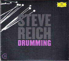 Steve REICH b.1936 Drumming Six Pianos Music for Maller Voices and Organ DG 2CD