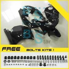 Gloss Black Fairing Bodywork Plastic Kit fit Kawasaki ZXR250 1991-1998 001 D2