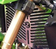 NEW POWERBRONZE STAINLESS RADIATOR GRILL GUARD FITS KAWASAKI Z1000 2010 to 2014