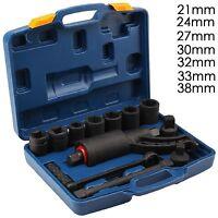 "Torque Multiplier Truck Wheel Nut Wrench Set 3/4"" 1"" Lugnut Remover Sockets"
