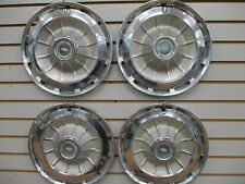 1962 CHEVROLET IMPALA BEL AIR CHEVY II CORVAIR Wheel Cover Hubcaps OEM SET 62