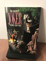 THE GREATEST JOKER STORIES EVER TOLD, 1st Print Trade Paperback Edition
