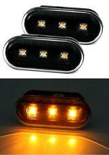 2 REPETITEURS LATERAUX BLACK A LED VW LUPO 6X1 6E1 1.2 TDI 3L 09/1998-07/2005