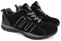 MENS WORK SAFETY STEEL TOE CAP BOOT TRAINER SHOES 3-13