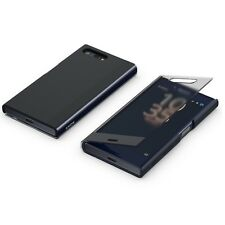 Original Sony Style Cover Touch Schutz Hülle SCTF20 Xperia X Compact Schwarz