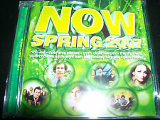 Now Spring 2007 Various CD  Silverchair Missy Higgins Airbourne Jet Kisschasy &