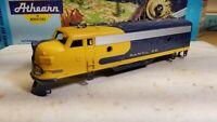 Athearn f7 a Santa Fe Shell,  for locomotive train engine ho