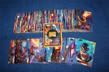 50 diff card lot from 1994 Marvel Masterpieces Gold Foil Signature Parallel Set