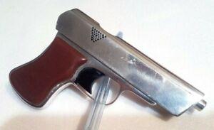 Vintage Cigarette gasoline Lighter GUN Star Red Handmade Soviet ИТК