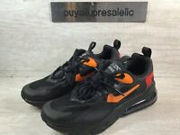 Nike Air Max 270 React (GS) Black/Magma Orange CV9638-001 Youth Size 5.5Y