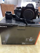 Sony Alpha a7R 36.4MP Digital SLR Camera - Black (Body Only) Excellent Condition
