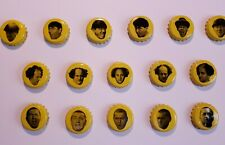 1999 Three Stooges Beer Bottle Caps (Ultra Rare 16 Unique Set)