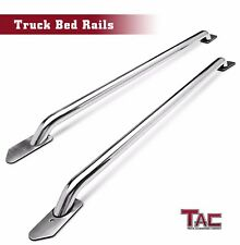 TAC 6.5' Side Bed Rails S/S for 2014-2017 Chevy Silverado 1500/GMC Sierra 1500