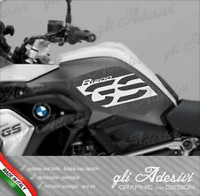 2 Adesivi BMW R 1200 GS LC 2017 RALLYE EXCLUSIVE cover GS grey