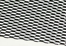 """12"""" X 48"""" UNIVERSAL BLACK ALUMINUM HONEYCOMB MESH for your CUSTOM GRILL GRILLE"""