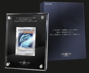 Yu-Gi-Oh! TCG Masterpiece Series: Platinum Blue-Eyes White Dragon PRESELL
