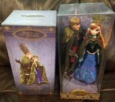Disney Fairytale Designer Collection Anna And Kristoff Limited Edition Dolls Set