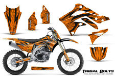 KAWASAKI KXF450 KX450F 12-15 CREATORX GRAPHICS KIT DECALS TRIBAL BOLTS ONP