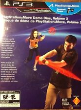 PS3 PLAYSTATION 3 MOVE DEMO DISC VOLUME 2 NEW @ SEALED