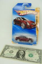 Hot Wheels  2010 New Models Metallic Maroon '09 Cadillac CTS-V - R0925