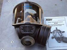 Scott M120 CBRN 40mm NATO NBC Gas Mask, Size: SMALL #013014