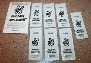 7 x Peace Out Acne Facial Serum 0.08 oz / 2mL sample = 0.56 total Salicylic Acid