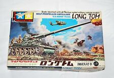1963 Tamiya Mokei T-235 Long Tom (World Tank Series) Model kit