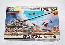 1963 Tamiya Mokei T-235 Long Tom (World Tank Series) Model kit