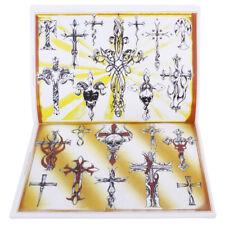80 PAGES Animal Flower Cross Design Sketch Flash Book Manuscript Tattoo Supplies