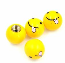 Special Valve Cap-Smiling Face with Tongue Universal For Car Van Bus Caravan