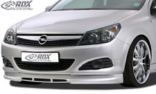 RDX Frontspoiler OPEL Astra H GTC Front Spoiler Lippe Vorne Ansatz PUR ABS