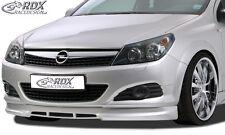 RDX SPOILER ANTERIORE OPEL ASTRA H GTC Spoiler Labbro Approccio FRONT anteriore allo stato puro ABS