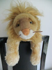 """10"""" TY LION KING JUNGLE SOFT CUDDLY TOY GOLDEN GINGER TEDDY BEAR CAT NEXT ZOO"""