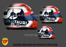 More details for pierre gasly helmet sticker f1 alpha tauri 2020 - scuderia gp