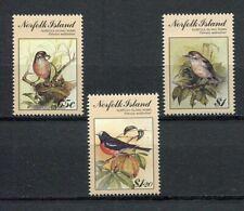 28200) NORFOLK ISLAND 1990 MNH** Nuovi** Birdpex 3v