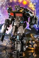 SS38 Optimus Prime Transformers 7in Alloy Level V Action Figure Gift Toy Black