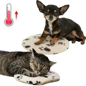 Pet Microwavable Heating Pad Self Warming Cat Dog Mat Cozy Cover Warmer Cushion