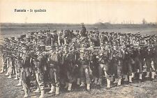 POSTCARD   MILITARY   ITALY  Fanteria    In  Quadrato