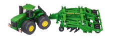 John Deere 9630 Tractor with Cultivator 1:87 Toy Gift Christmas
