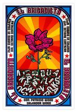 Cuban decor Graphic Design movie Poster 4 film.el BRIGADISTA.Flower CUBA art