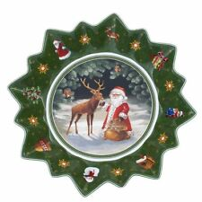 Villeroy & Boch TOY'S FANTASY Large Bowl Deer & Santa :  #3761