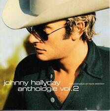 DOUBLE CD JOHNNY HALLYDAY   ANTHOLOGIE VOL.2