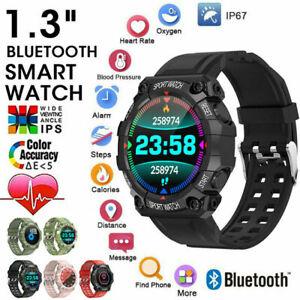 Waterproof Sport Fitness Smart Watches Women Men Heart Rate Tracker iOS Android