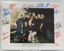 BABYLON 5 : BABYLON 5 PHOTO SIGNED BY 10 CAST MEMBERS. LIMITED EDITION (C3) 86