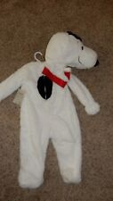 Pottery Barn Kids Peanuts Snoopy Costume Size 3T with surprise Treat Bag