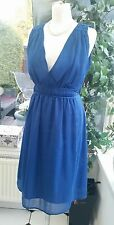 Soaked in luxury. Ladies Grecian tunic sleeveless summer dress size M 12. SUCCES